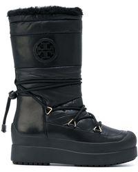 6615b177d0f Lyst - Women s Tory Burch Flat boots On Sale