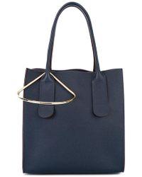 ROKSANDA - Tote Bag With Gold Tone Detail - Lyst