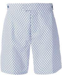 Frescobol Carioca - Printed Swim Shorts - Lyst