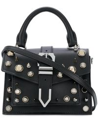 Versus    Studded Mini Buckle Iconic Top Handle Bag   Lyst