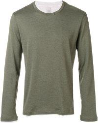 Eleventy - Layered Long Sleeve T-shirt - Lyst