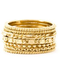 Wouters & Hendrix | Set Of Seven Rings | Lyst