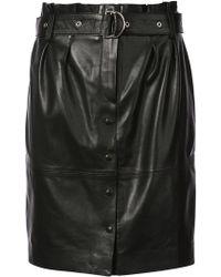 IRO - Belted Button Skirt - Lyst