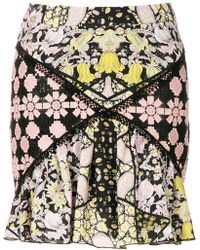 Giamba - Macrame Panel Mini Skirt - Lyst