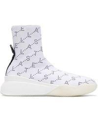 Stella McCartney - Loop Monogram Sneakers - Lyst