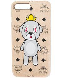 MCM - Monogram Dog Print Iphone 8 Plus Case - Lyst
