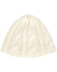 Ryan Roche - Chain Knit Hat - Lyst