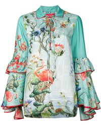 F.R.S For Restless Sleepers - Floral Gypsy Polo Top - Lyst