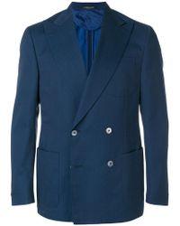 Corneliani - Double-breasted Jacket - Lyst