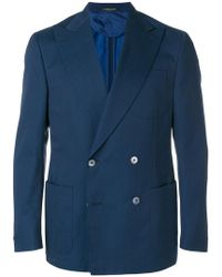 Corneliani - Double-breasted Jacket - Lyst