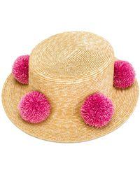 Eshvi - Pom Pom Hat - Lyst