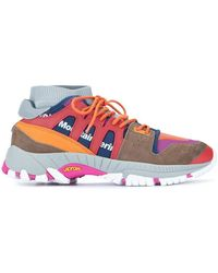 3ffa3ec579a3 White Mountaineering - Colour-block Sneakers - Lyst