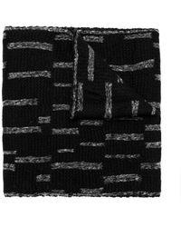 UMA | Raquel Davidowicz - Blurry Stripes Scarf - Lyst