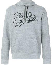 Polo Ralph Lauren - Kapuzenpullover mit Logo - Lyst