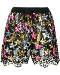 Ashish - Sequin Embellished Shorts - Lyst