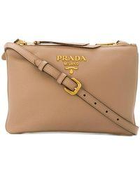 Prada - Saffiano Cross-body Bag - Lyst
