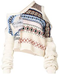 Preen By Thornton Bregazzi - Kyra Pattern Sweater - Lyst