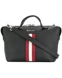 Bally - Striped Tote Bag - Lyst