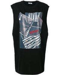 Versus - Sleeveless Printed T-shirt - Lyst