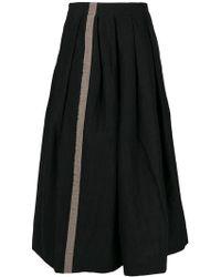 Uma Wang - A-line Flared Skirt - Lyst