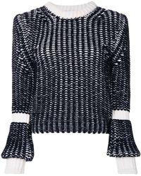 Thom Merino Colored Chunky Lyst Pullover Browne Bi qqOwxT1R