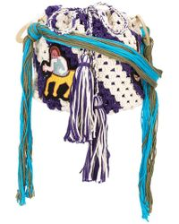 Peter Pilotto - Embroidered Crochet Bag - Lyst