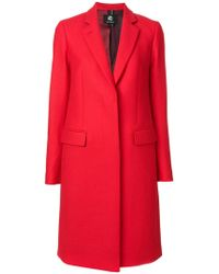 PS by Paul Smith - Fitted Coat - Lyst
