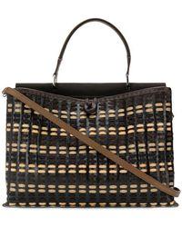 Carmina Campus - Demie Braided Large Handbag - Lyst