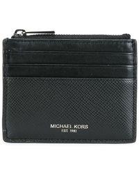 Michael Kors - Top Zipped Flat Cardholder - Lyst