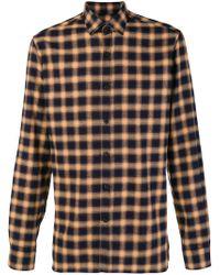 Lanvin - Checked Button Shirt - Lyst