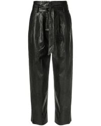 8pm - Tapered Trousers - Lyst