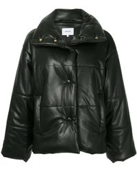 414536cf6 Hysteric Glamour Cropped Leather Jacket in Black - Lyst