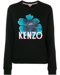 KENZO - Floral Motif Sweatshirt - Lyst