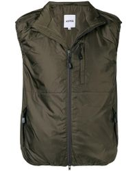 Aspesi - Military Fitted Vest - Lyst