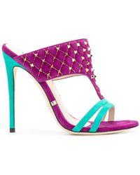 Gianni Renzi - Gd1623l Violet Other->velvet - Lyst
