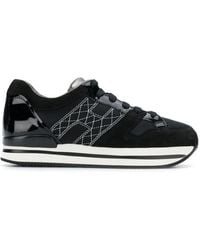Hogan - Stitched H Sneakers - Lyst