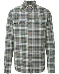 Kolor - Star-stud Checked Shirt - Lyst