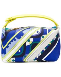Emilio Pucci - Abstract Print Makeup Bag - Lyst