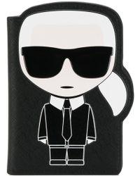 Karl Lagerfeld - Ikonik Cardholder - Lyst