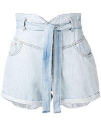 Pinko - Denim Shorts - Lyst