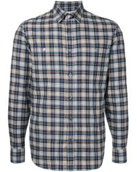 Gieves & Hawkes - Classic Plaid Shirt - Lyst