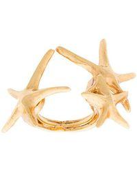 Oscar de la Renta - Starfish Ring - Lyst