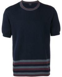 3d4e431538e Lyst - Qasimi Oversize Denim Tshirt in Blue for Men