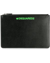 DSquared² - Printed Logo Coin Pouch - Lyst