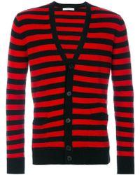 Givenchy - Striped Cardigan - Lyst