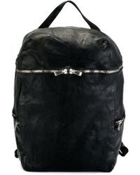 Guidi - Zip Up Backpack - Lyst
