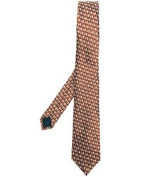 Lanvin - Triangle Print Tie - Lyst