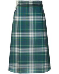 Burberry - House Check Skirt - Lyst