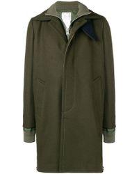 Sacai - Layered Coat - Lyst