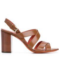 Santoni - Strappy Sandals - Lyst